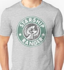 Starship Ranger: Washed starbucks style T-Shirt