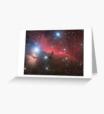 Horsehead Nebula Greeting Card