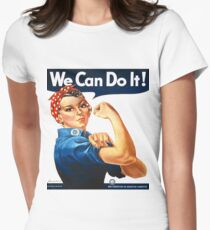 Rosie the Riveter Tshirt T-Shirt