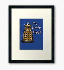 My Little Dalek Framed Print