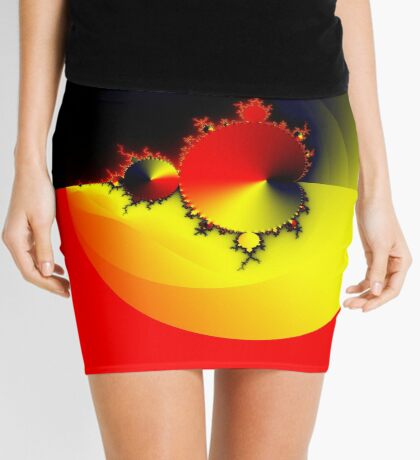 Mandelbrot 20161022-003 Mini Skirt