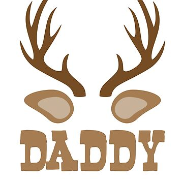 Daddy Reindeer T shirt by 3familyllc