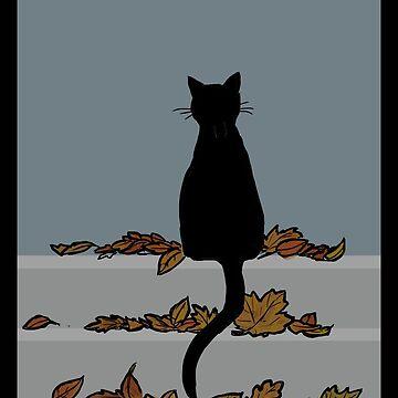 Gato en otoño de bluebell42
