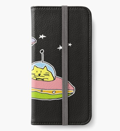 space cats iPhone Wallet