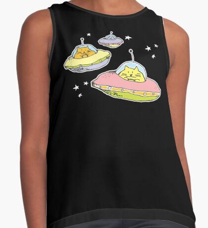 space cats Contrast Tank
