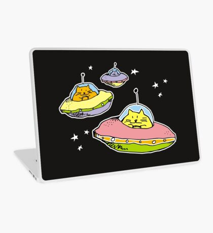 space cats Laptop Skin