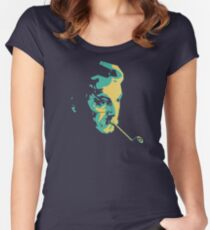 Georges Brassens Women's Fitted Scoop T-Shirt