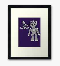 My Little Cyberman Framed Print