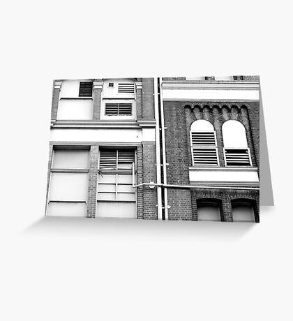 Richard and Paula - Buildings in Love Greeting Card