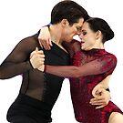 Tessa Virtue und Scott Moir von Greyson Easley