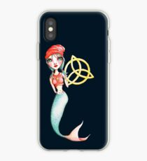 Meara the Irish Mermaid iPhone Case
