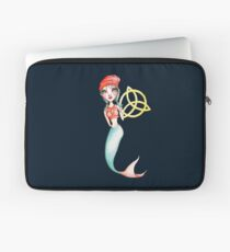 Meara the Irish Mermaid Laptop Sleeve