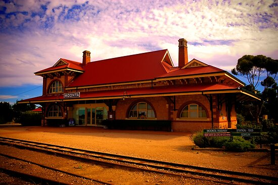 Moonta Railway Station by Paul Tait
