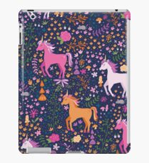 Unicorns in the Flower Garden iPad Case/Skin
