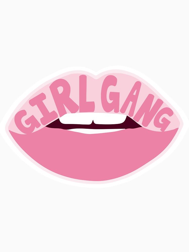 Mädchen Gang von zariagrace