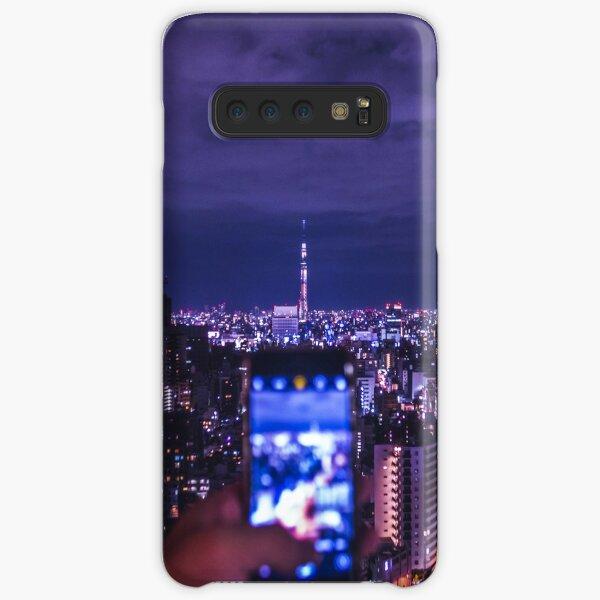 Tokyo night - cityscape  Samsung Galaxy Snap Case