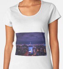 Tokyo night - cityscape  Women's Premium T-Shirt