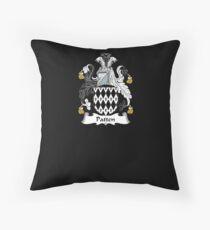 Patten Coat of Arms - Family Crest Shirt Throw Pillow