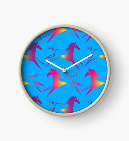 Horse Nation Clock