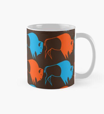 Orange Blue Buffalo Nation Mug