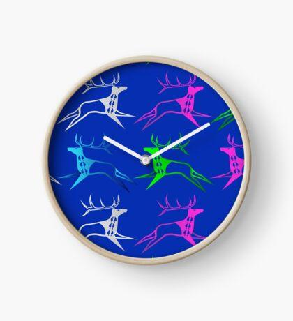 Elk Dreamers Clock