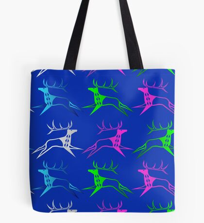 Elk Dreamers Tote Bag