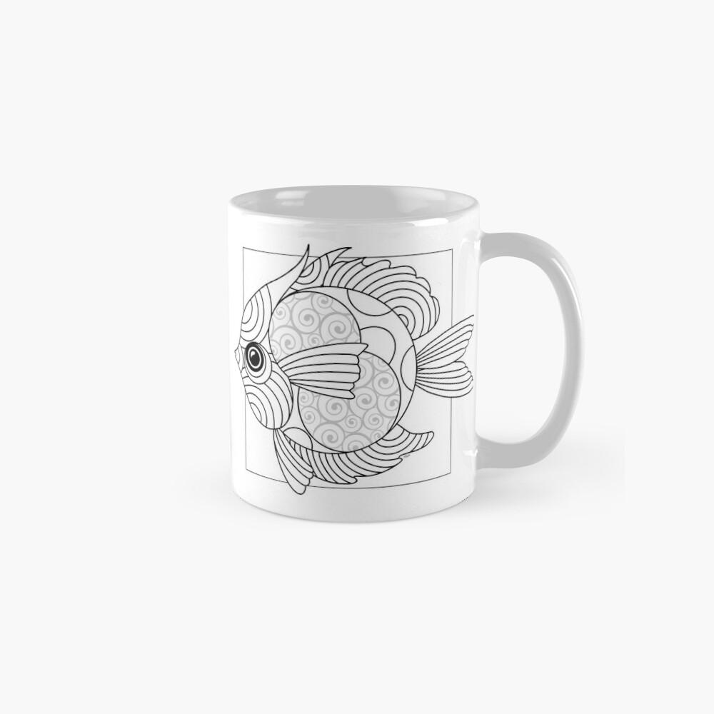 Just Add Colour - Fanciful Fish Mugs