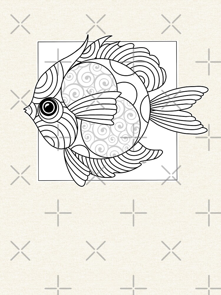 Just Add Colour - Fanciful Fish by FunkiFish