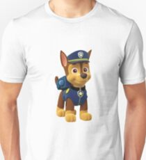 paw patrol chase Slim Fit T-Shirt