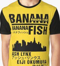 Banana Fish Graphic T-Shirt