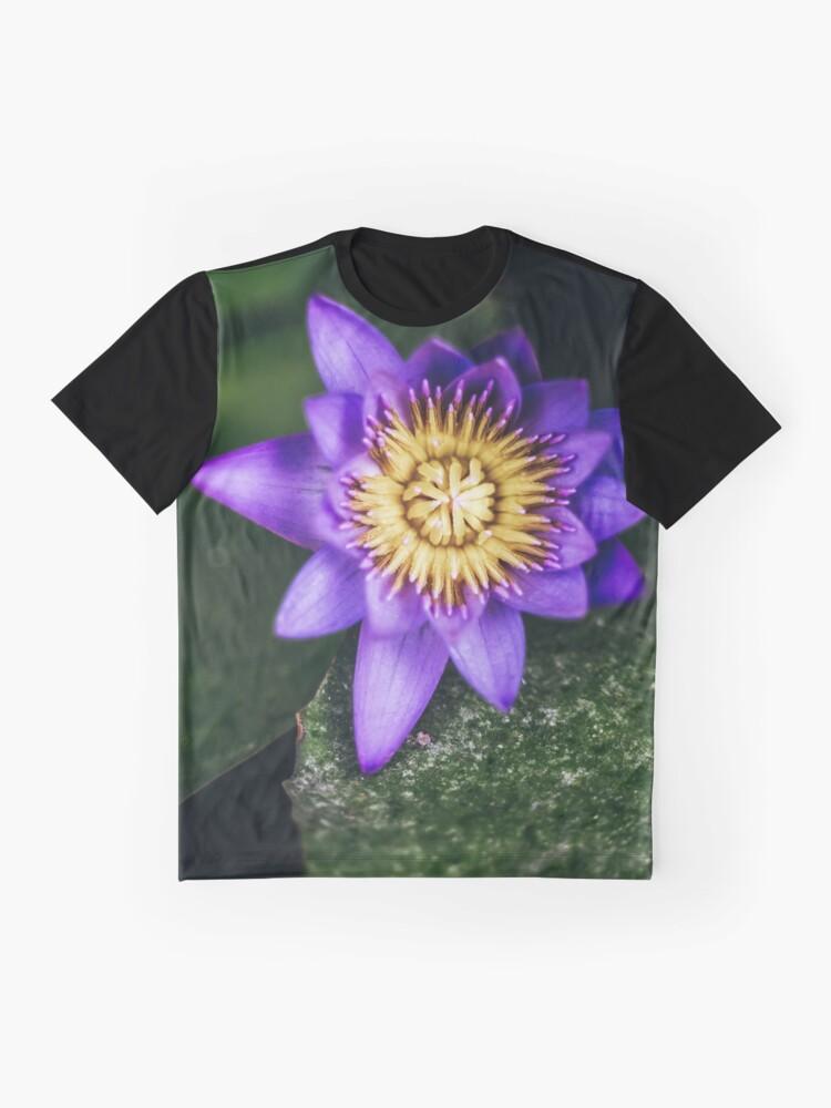 Alternative Ansicht von Lila Grafik T-Shirt