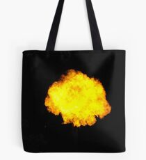 Fire on the Yarra Tote Bag