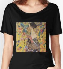 Gustav Klimt, Great European Artist, Cards, Wall Art, T Shirts Women's Relaxed Fit T-Shirt