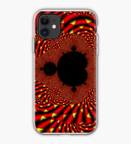 Mandelbrot - Fire iPhone Case