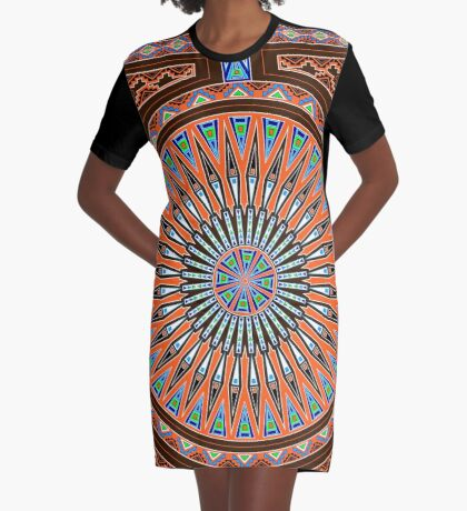 Lets Celebrate  Graphic T-Shirt Dress