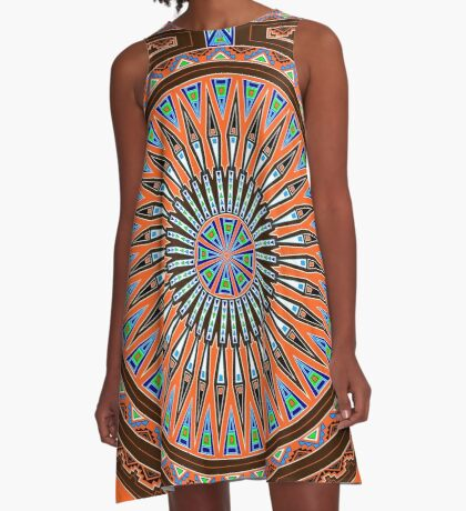 Lets Celebrate  A-Line Dress
