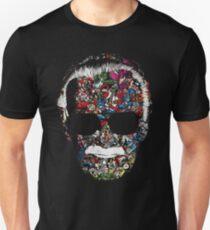 Mann mit vielen Gesichtern Slim Fit T-Shirt