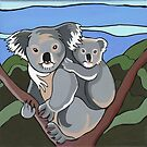 Koala by Debby Haskard-Strauss