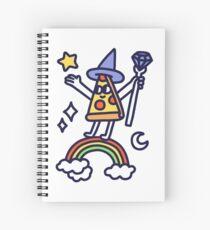 Wizard Pizza Spiral Notebook