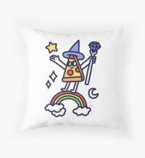 Wizard Pizza Throw Pillow