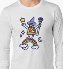 Wizard Pizza Long Sleeve T-Shirt