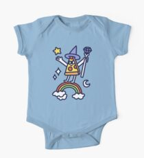 Wizard Pizza Short Sleeve Baby One-Piece