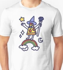 Wizard Pizza Slim Fit T-Shirt