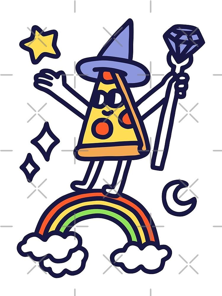 Wizard Pizza by obinsun
