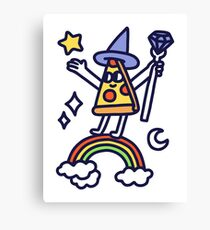 Wizard Pizza Canvas Print