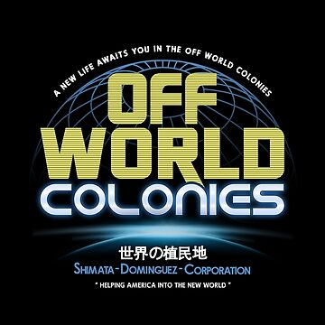 Blade Runner - Shimata Dominguez Off World Colonies by Purakushi