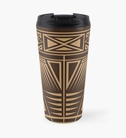 Vintage Native American Gathering Travel Mug