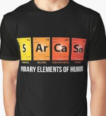 Sarcasm Mendeleev Humor Periodic Elements Graphic T-Shirt