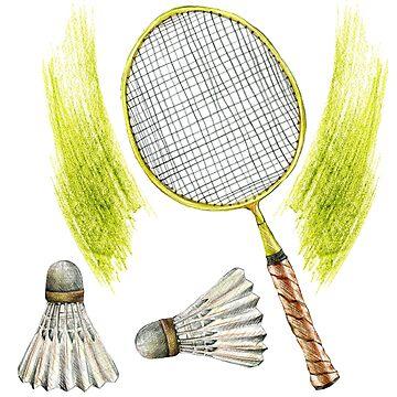 badminton by lisenok