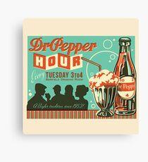Dr. Pepper Vintage Ad #2 Canvas Print
